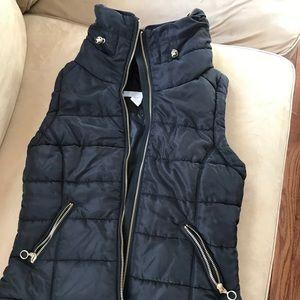Warm, puffy vest